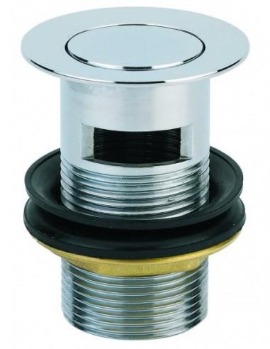 Design culbuto basin waste, 38 mm dia., clamp 32/55 mm, chrome-plated brass