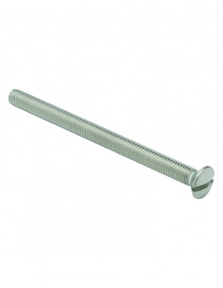 Screw for stoneware sink waste, D. 6 x 80 mm, stainless steel, set of 2