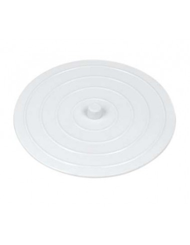 Sink stopper for all types of sinks, suction pad D. 103 mm, white, batch of 5