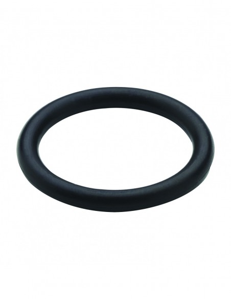 O-ring, thickness 4 mm, D. 27 x 35 mm, black polymer, pack of 2