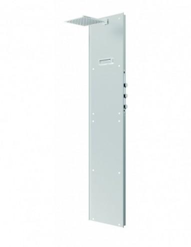 Colonne de douche à carreler avec mitigeur thermostatique