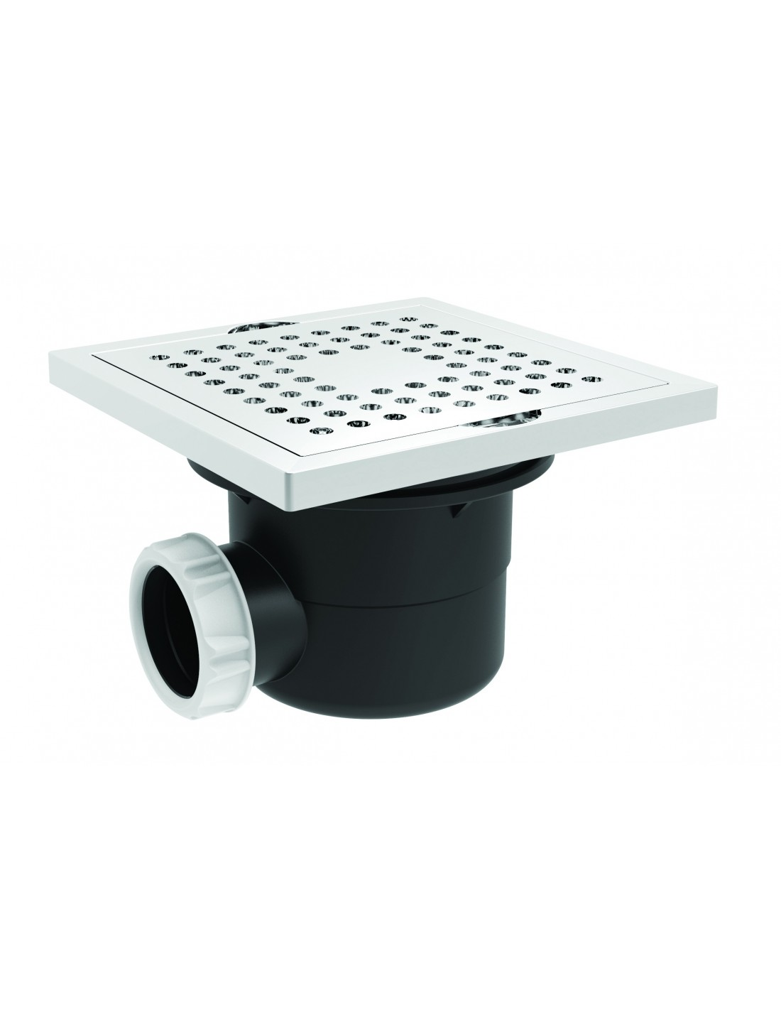 Shower gully with grid and waterproof seal mat  Valentin