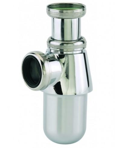 Siphon de lavabo régable en ABS chromé avec une sortie de Diam.32