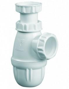 Adjustable basin trap 50/106 mm, inlet 1''1 / 4