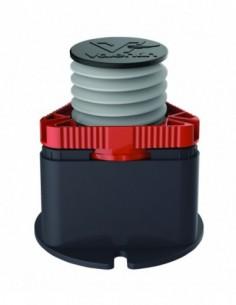 Pied de receveur de douche en plastique avec une hauteur réglable à 65/110 mm et de marque CRICABAC FIT