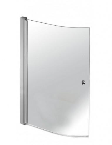 Pare douche pour baignoire de marque EDEOL avec fonction réversible