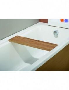 Siège en teck de douche pour baignoire BAHIA dimensions 170 X75 cm