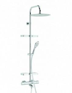 Combiné de douche Opium pour baignoire/douche avec robinet thermostatique
