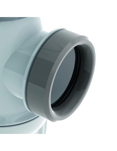 Siphon d'évier certifié NF en plastique