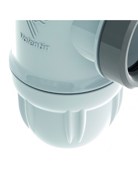 Siphon pour évier en plastique bi-matière Connectic
