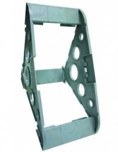 Support dévidoir en plastique gris pour touret Fitoflex