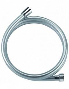 Flexible PVC effet metal de la marque NF très resistant avec 2m de longueur et ecrou tournant
