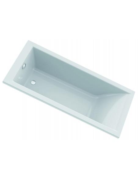 Baignoire avec design CLEOPATRE avec une longueur de 170cm et une largeur de 75 cm