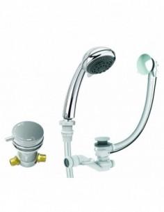 Equipement pour baignoire Comodo avec vidage douchette et flexibles