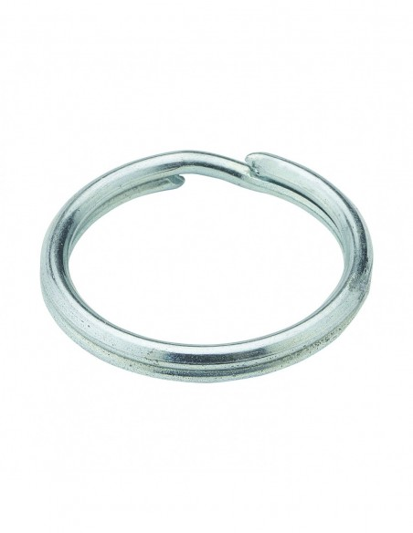 Split ring for chain fastener, D. 19 mm, stainless steel, set of 2 pieces