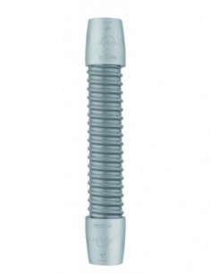Raccord flexible souple armé en PVC avec embouts en ABS de longueur 260 mm