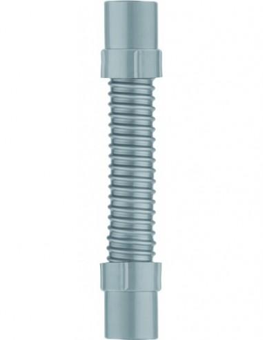 Raccord souple  flexible en PVC avec embouts en ABS de Diam.32 mm et longueur 260 mm