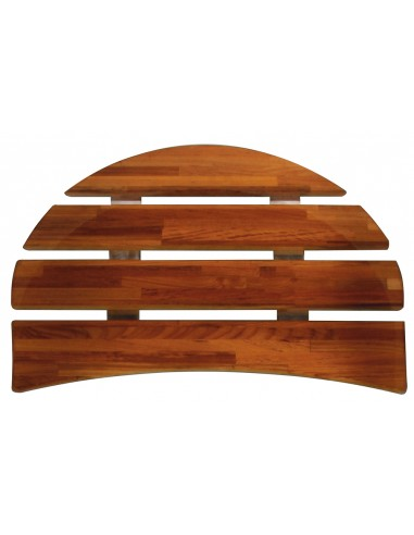 Wood seat for Minime bathtub 120 x 70 cm